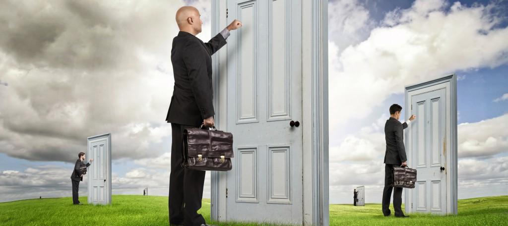 閉ざされたドアの向こうに新しい会社の可能性が・・・?